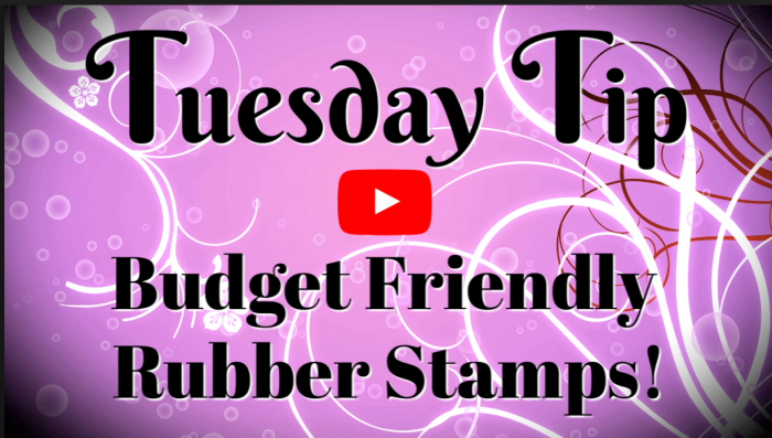 Budget Friendly Rubber Stamps