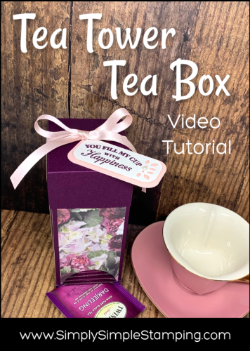 Tea Tower Tea Box | Video