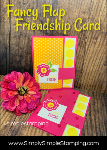Fancy Flap Friendship Card | Simple Stamping