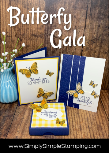 3 Amazing Paper Craft Projects with Butterfly Gala