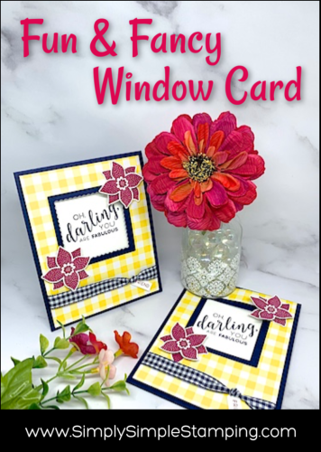 Make it in a Breeze! Fun Window Card