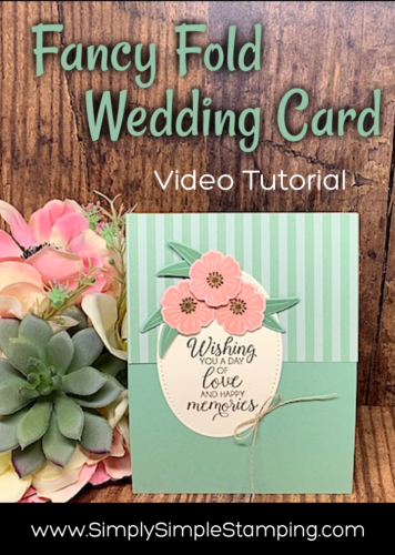 Fancy Fold Wedding Card | Creative Juice