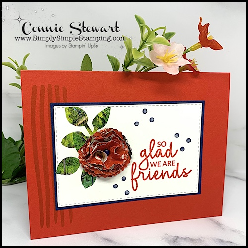 Turn-Junk-Mail-into-Flowers-for-Paper-Craft-Projects-Red-Greeting-Card