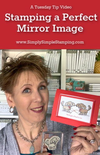 How to Stamp a Perfect Mirror Image