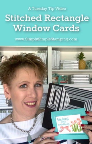 A Window Card You'll Want to Make Today | Tuesday Tip
