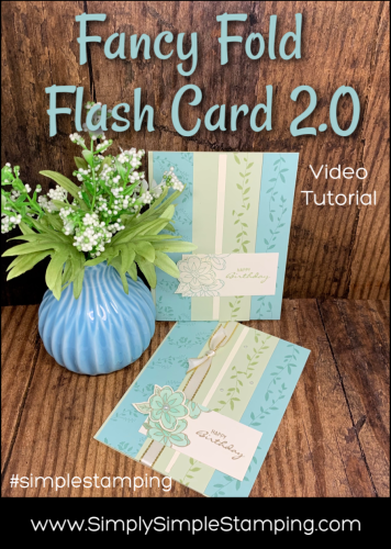 Fancy Fold Flash Card 2.0 | Simple Stamping