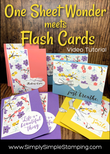 One Sheet Wonder meets Flash Cards
