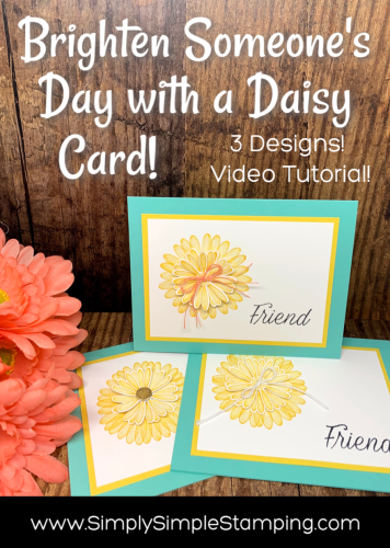 Daisy Friendship Cards to Brighten Someone's Day