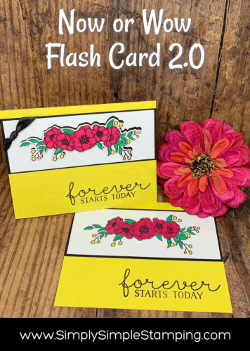 A Now or Wow Flash Card 2.0 You Can't Wait to Make!