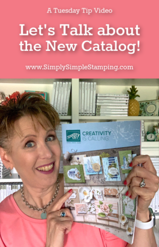 Let's Talk about the NEW Stampin' Up catalog!
