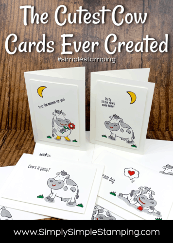 The Cutest Cow Cards Ever Created!