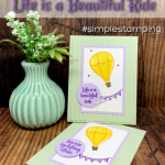 A Friendship Card You'll Find Adorable in a Simple Stamping Style   Flash Card