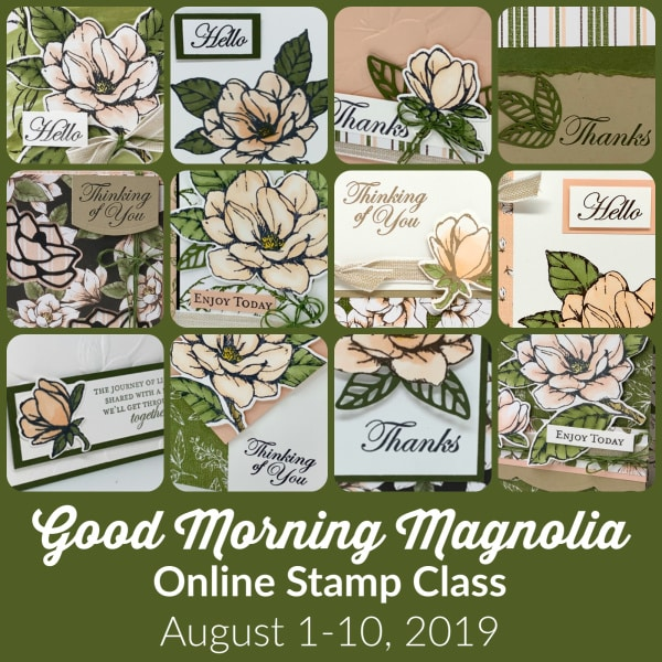 Good Morning Magnolia Online Stamp Class