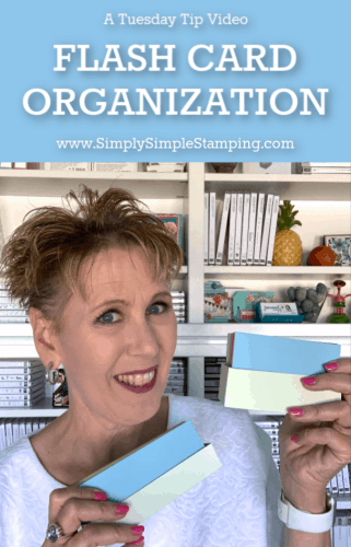 Flash Card Organization | Tuesday Tip