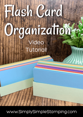 Flash-Card-Organization