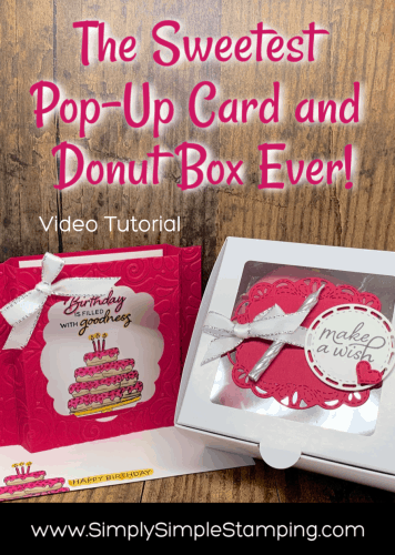 The Sweetest Pop-Up Birthday Card & Gift Box Ever!