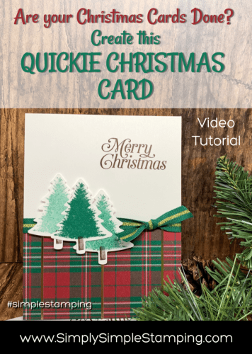 How to Make a Simple Christmas Card in 5 Minutes + Bonus Project