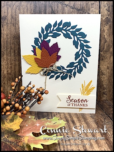 Fall Color Inspiration for Handmade Cards