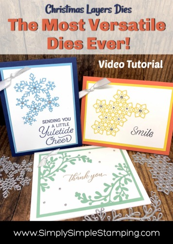 The Most Versatile Dies Ever! Hint: Use Beyond Christmas