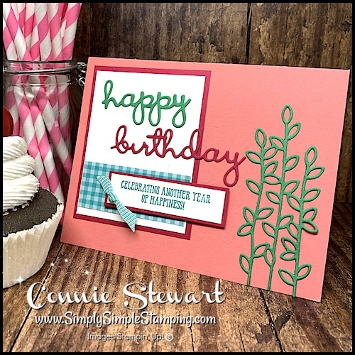 Bold Color Inspiration for Birthday Cards
