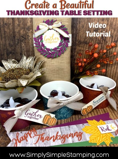 Thanksgiving Table Decorations that are Easy to Make