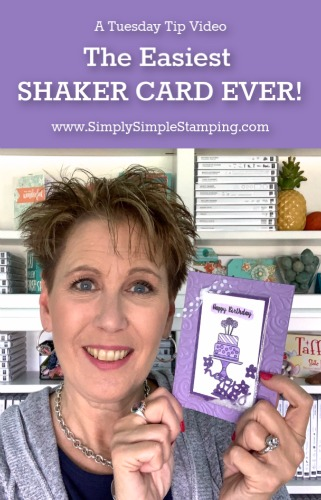 How to Make the Easiest Shaker Card Ever!