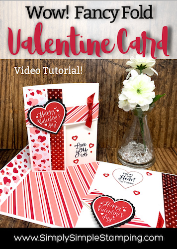 Wow! Check out this Fancy Fold Valentine Card!