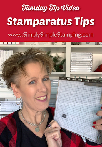 Stamparatus Tips to make Stamping Easy
