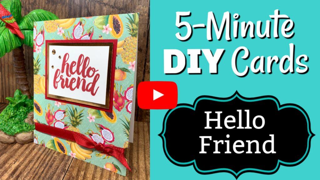 5-Minute-DIY-Card