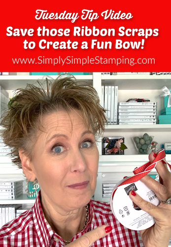 How to Create Fun Bows with Ribbon Scraps