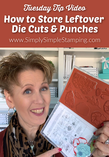How to Store Leftover Die Cuts & Punches