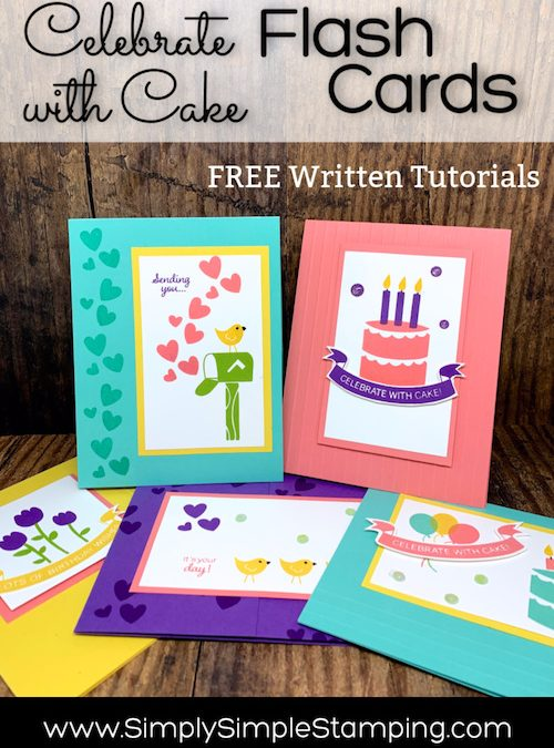 Free Flash Card Tutorials! Feel the Love!