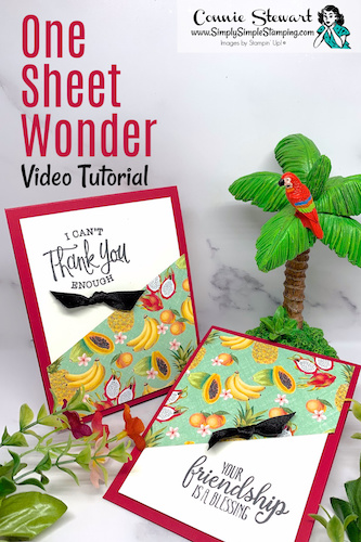 2 Quick One Sheet Wonder Cards + An Irresistible Offer