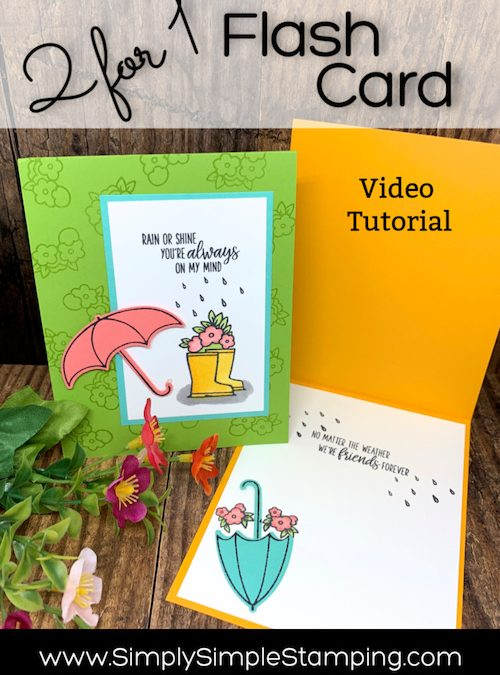 Cheerful DIY Card for Your Friends: Like a Hug in the Mail