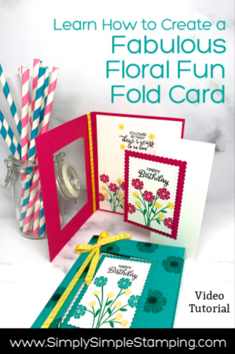 How to Make a DIY Birthday Card Fun Fold Style