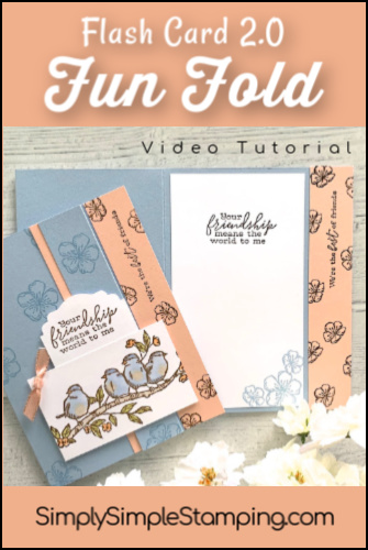 How to Make a Fun Fold Friendship Card In Simple Steps