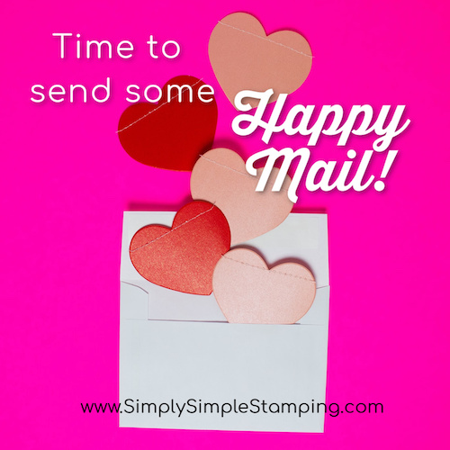 Let's Get Busy and Share some Happy Mail!
