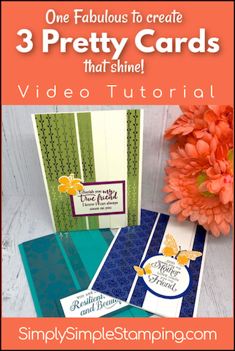 3 Greeting Cards that Shine Bright in One Layout