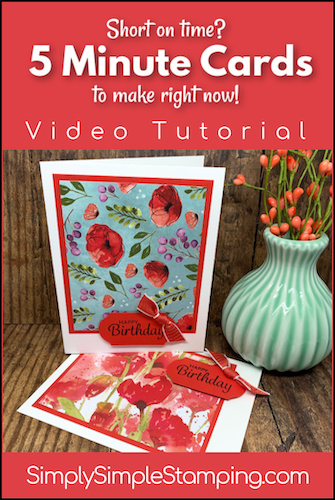 How to Make Simple DIY Cards in 5 Minutes