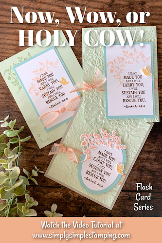 How to Make a Card Full of Hope | Now, Wow or Holy Cow Series