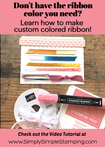 8 Easy Ways to Customize Ribbon to Match Your Projects