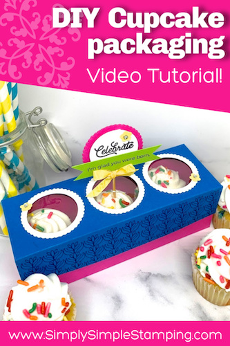 You've just GOT to Make this Sweet Cupcake Box!